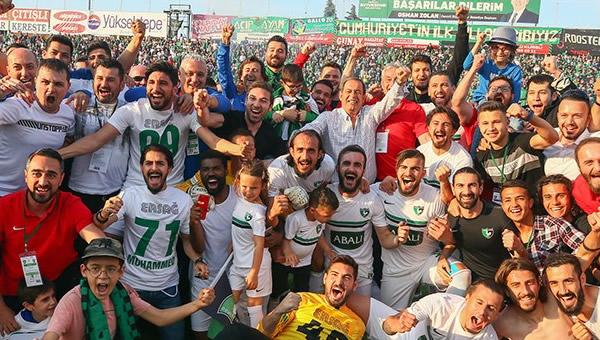 Abalı Denizlispor'un 9 yıllık hasreti bitti
