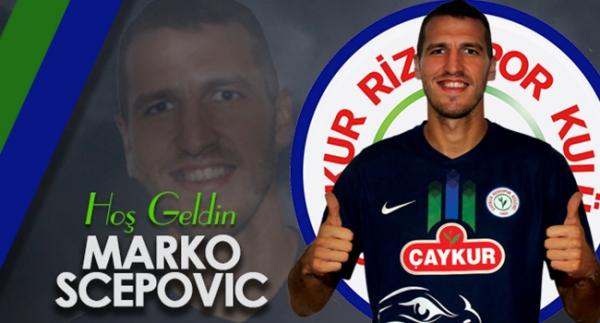 Çaykur Rizespor'a Sırp golcü
