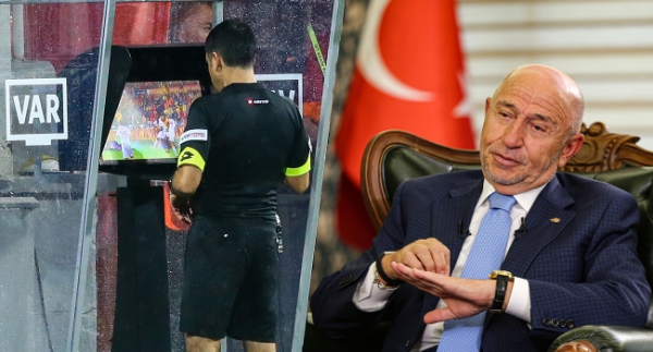 """TFF Başkanı Özdemir: """"UEFA, VAR kayıtlarının yayınlanmasını istemiyor"""""""