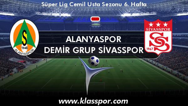Alanyaspor  - Demir Grup Sivasspor