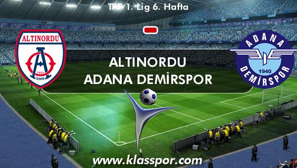 Altınordu  - Adana Demirspor