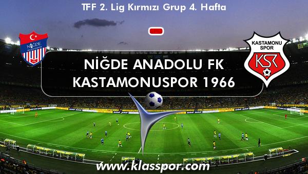Niğde Anadolu FK  - Kastamonuspor 1966