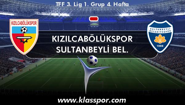 Kızılcabölükspor  - Sultanbeyli Bel.
