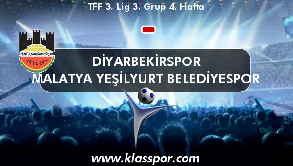 Diyarbekirspor  - Malatya Yeşilyurt Belediyespor