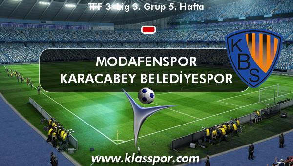 Modafenspor  - Karacabey Belediyespor