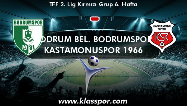 Bodrum Bel. Bodrumspor  - Kastamonuspor 1966