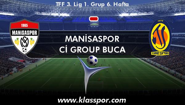 Manisaspor  - Cİ Group Buca