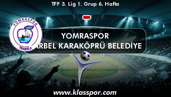 Yomraspor  - Karbel Karaköprü Belediye