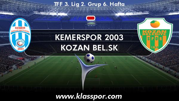 Kemerspor 2003  - Kozan Bel.SK