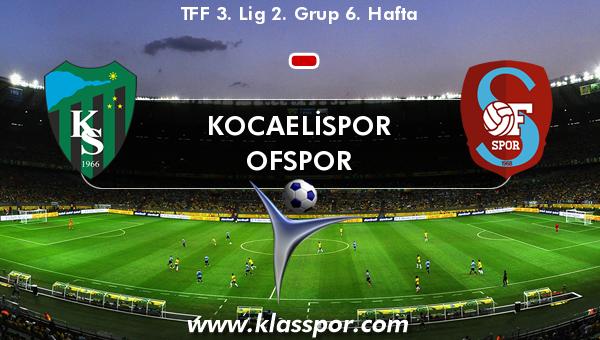 Kocaelispor  - Ofspor