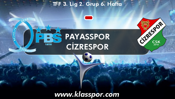 Payasspor  - Cizrespor