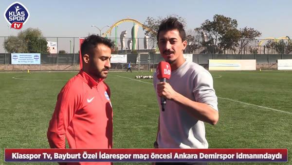 Ankara Demirspor kapılarını Klasspor'a açtı