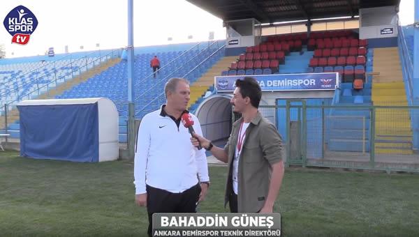 Ankara Demirspor maç sonu röportajları