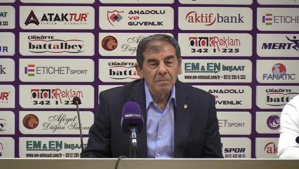 Keçiörengücü - Balıkesirspor maçı sonrası açıklamalar