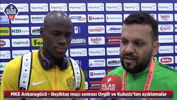 Orgill ve Kulusic'ten Klasspor Tv'ye açıklamalar
