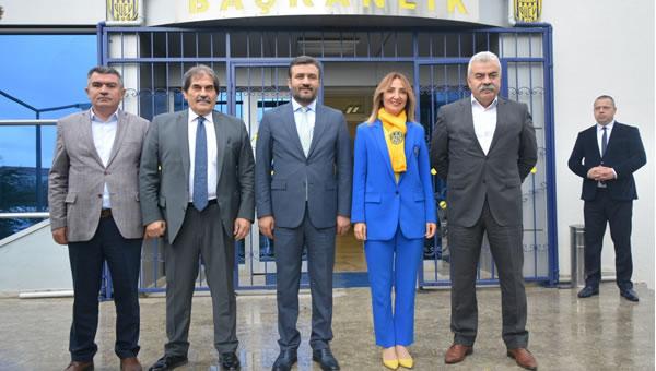 Aylin Nazlıaka'dan Ankaragücü'ne ziyaret