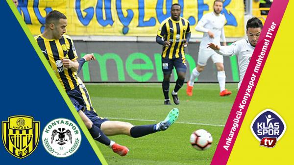 Ankaragücü - Konyaspor Muhtemel 11'leri