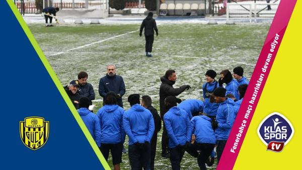 Fenerbahçe hazırlıkları devam etti