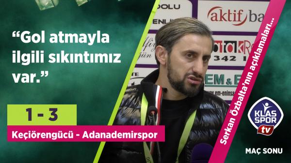 Serkan Özbalta'dan gol sitemi