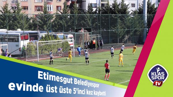 Etimesgut Belediyespor evinde üst üste 5'inci yenilgisini aldı