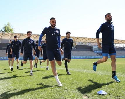 Osmanlıspor'da çalışmalar devam ediyor