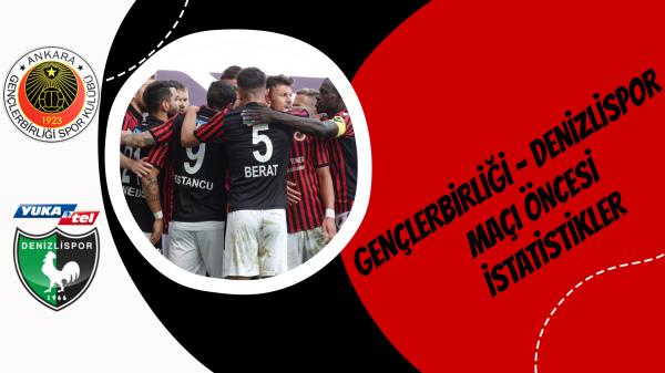 Gençlerbirliği – Denizlispor maçı öncesi istatistikler