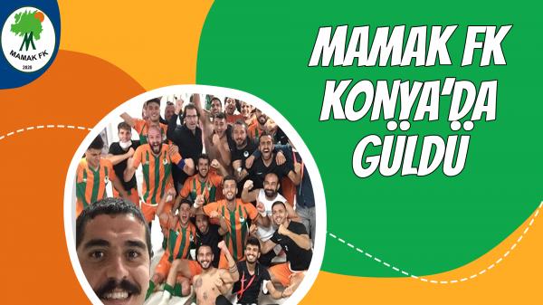 Mamak FK Konya'da güldü