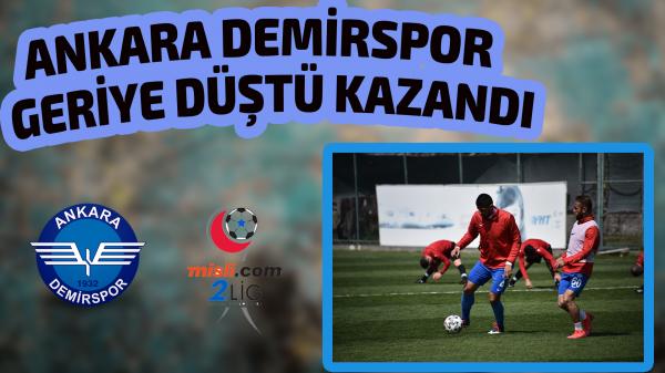 Ankara Demirspor Play Off aşkına