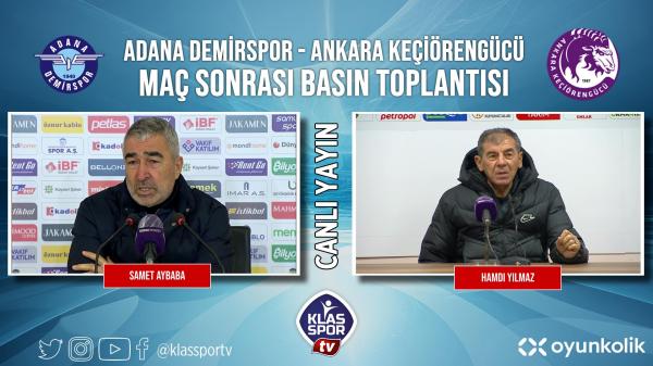 Hamdi Yılmaz Adana Demirspor maçı sonrası konuştu
