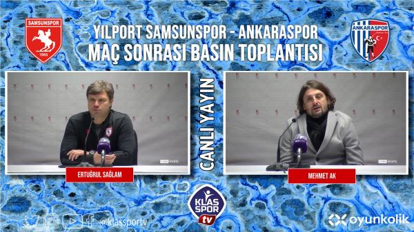 Mehmet Ak, Samsunspor maçını değerlendirdi