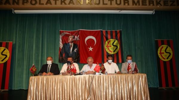Eskişehirspor'da olağanüstü genel kurul 12 Temmuz'a ertelendi