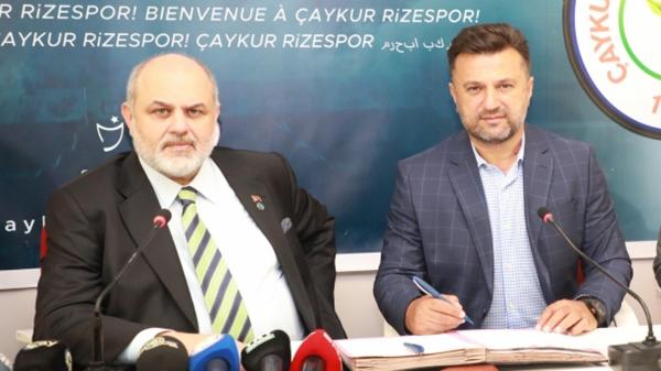 Rizespor, Bülent Uygun ile 3 yıllık sözleşme imzalandı