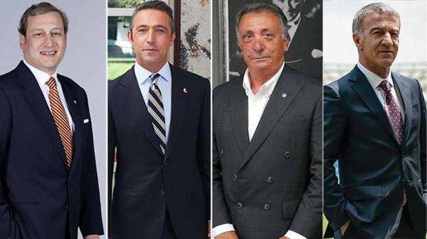 4 kulübün başkanı bir araya geldi