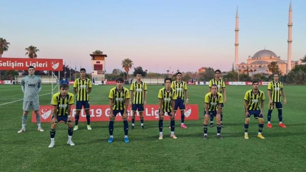 U19 Gelişim Ligi'nin üçüncüsü Fenerbahçe