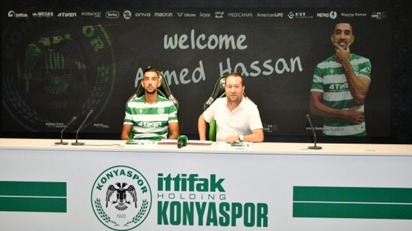Ahmed Hassan Konyaspor'da