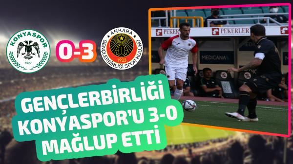 Gençlerbirliği hazırlık maçında Konyaspor'u 3-0 mağlup etti