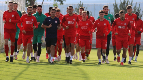 Sivasspor Fenerbahçe maçına hazır