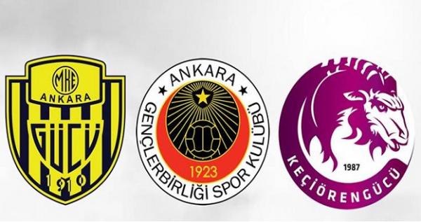1 değil, 2 değil, 3 Ankara takımı birden!