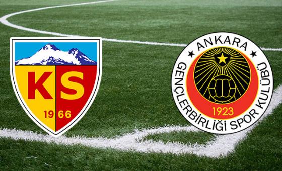 Gençlerbirliği - Kayserispor hazırlık maçı...