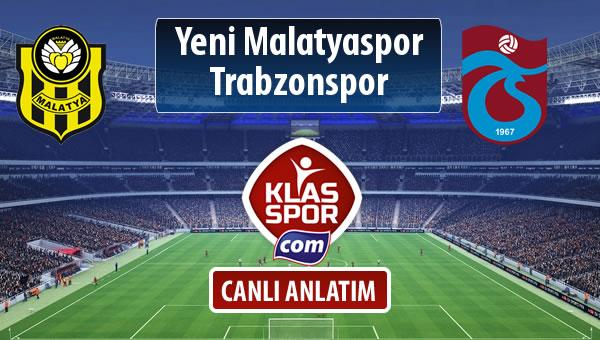 İşte Evkur Y.Malatyaspor - Trabzonspor maçında ilk 11'ler