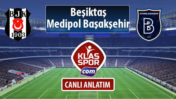 Beşiktaş - M.Başakşehir maç kadroları belli oldu...