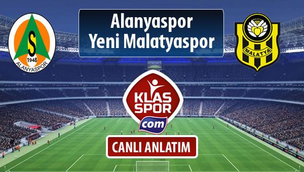 Alanyaspor - Evkur Y.Malatyaspor sahaya hangi kadro ile çıkıyor?