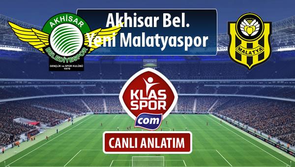 İşte Akhisar Bel. - Evkur Y.Malatyaspor maçında ilk 11'ler