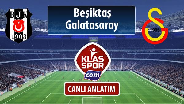 Beşiktaş - Galatasaray maç kadroları belli oldu...