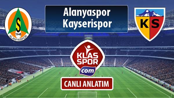 İşte Alanyaspor - Kayserispor maçında ilk 11'ler