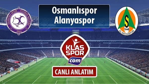 Osmanlıspor - Alanyaspor maç kadroları belli oldu...