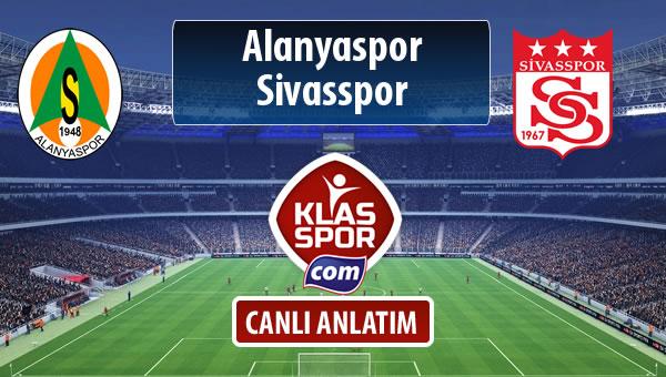 İşte Alanyaspor - Demir Grup Sivasspor maçında ilk 11'ler