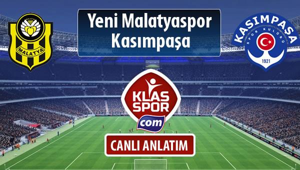 Evkur Y.Malatyaspor - Kasımpaşa maç kadroları belli oldu...