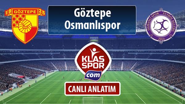 Göztepe - Osmanlıspor maç kadroları belli oldu...