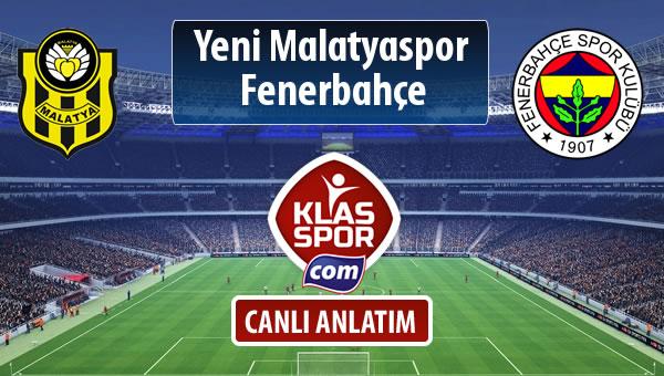 Evkur Y.Malatyaspor - Fenerbahçe sahaya hangi kadro ile çıkıyor?